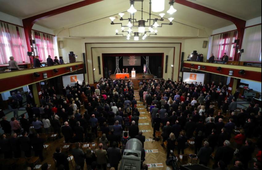 Czech CSSD 40th Congress