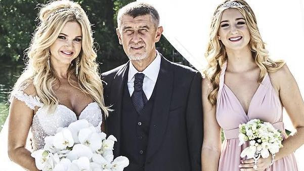Andrej Babis and Monika Babis