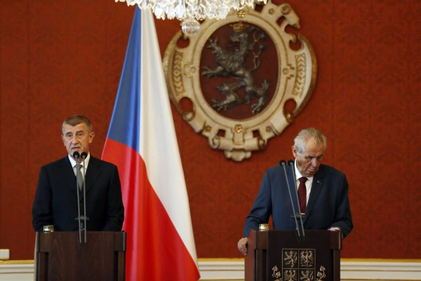 billionaire andrej babis appointed prime minister by president zeman
