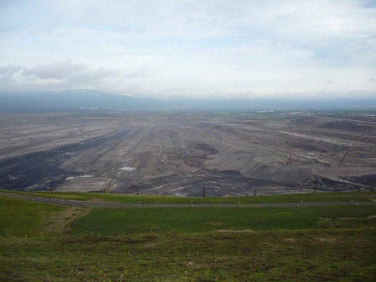Bilina brown coal mine