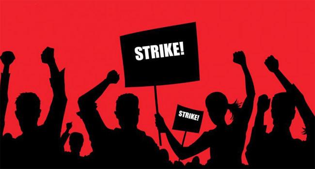 Czech unions strike