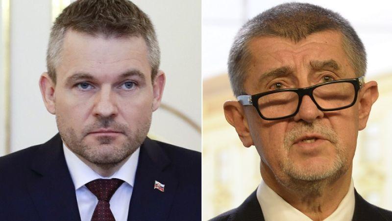 Andrej Babis Petr Pellegrini