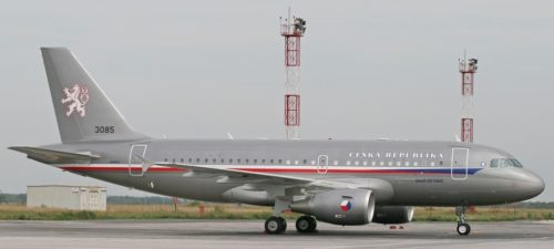 Czech Republic Air Force Airbus
