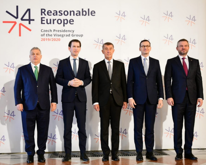 Visegrad Group Leaders and Austrian Chancellor Sebastian Kurz